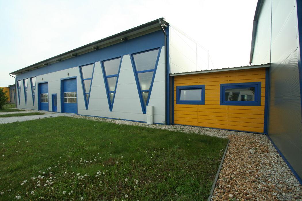Pohled na výrobní halu