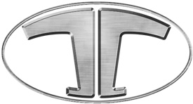 Thunderbolt, the main logo of the company for the sale of tricycles